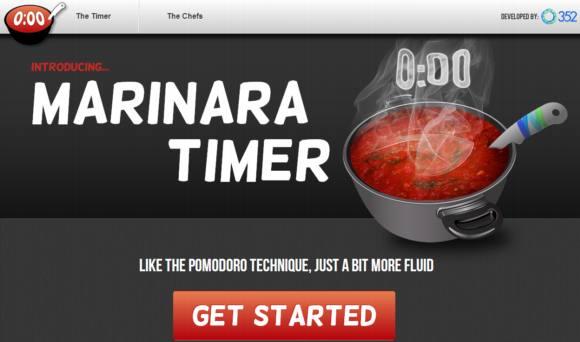 Timer para gestionar el tiempo con la técnica Pomodoro