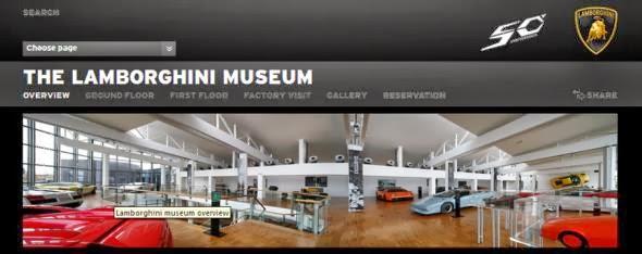 Visita el Museo Lamborghini desde el living de tu casa