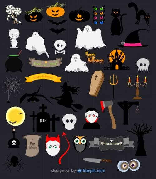 Recursos gráficos para celebrar Halloween