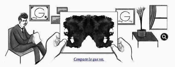 El Test de Rorschach es el Doodle de hoy