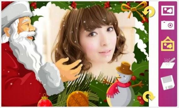 Montajes navideños para tus fotos desde tu móvil con Android