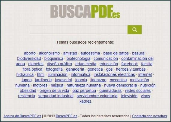 PDFtech. Completo Buscador de archivos PDF