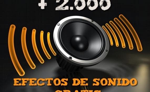 AudioMicro. Más de 2000 efectos de sonidos gratis