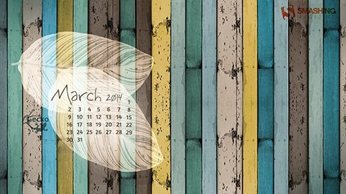 Fondos de pantalla con o sin el calendario de marzo de 2014