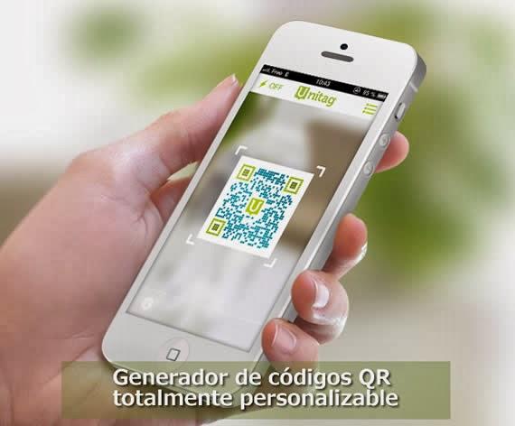 enerador de códigos QR totalmente personalizable y gratuito