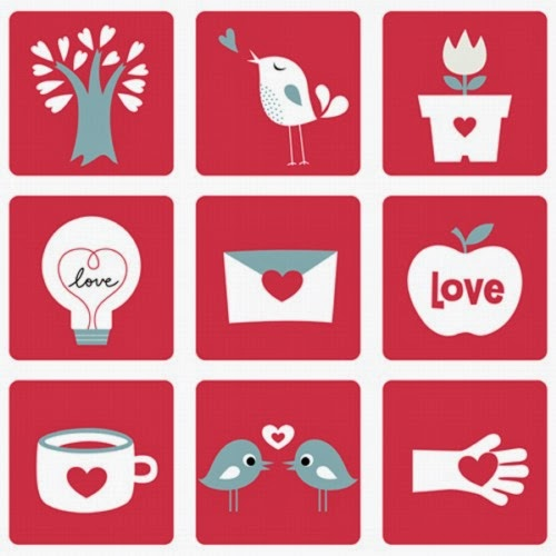 Pack de iconos de San Valentín