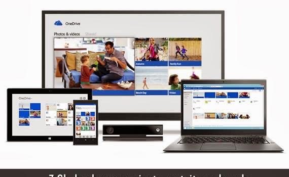 OneDrive. 7 Gb de almacenamiento gratuito en la nube