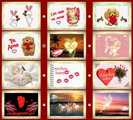 Tarjetas de felicitación online para San Valentín