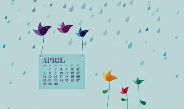 Fondos de pantalla con o sin el calendario de abril de 2014