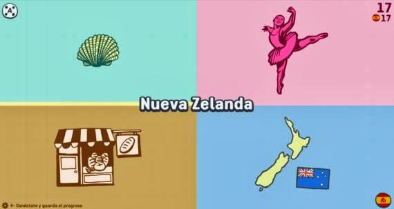 Babadum, juego para aprender vocabulario en varios idiomas