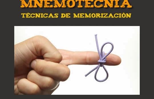 Mnemotecnia. Libro gratuito con técnicas de memorización