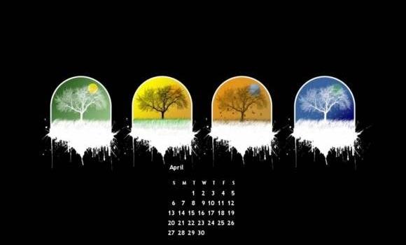 Diseña tu propio fondo de pantalla con o sin calendario