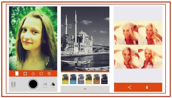 Saca las mejores selfies con Retrica
