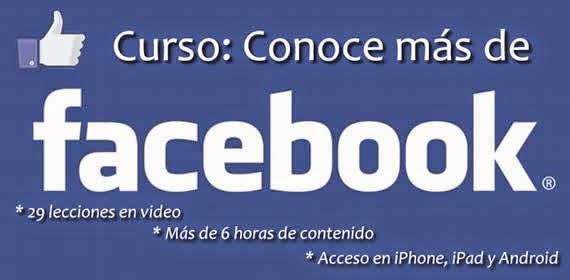 Curso básico para saber más de Facebook