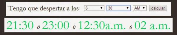 Programar hora en Sleepyti