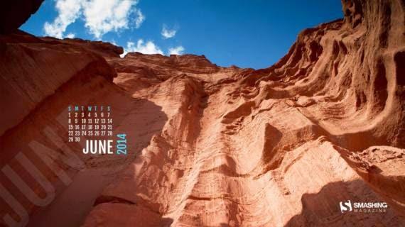 Fondos de pantalla con o sin el calendario de junio de 2014