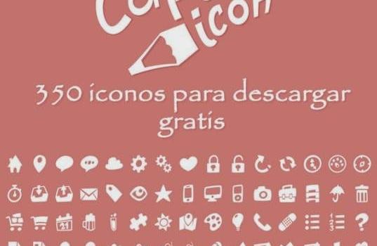 Colección de 375 iconos en varios formatos para descargar gratis