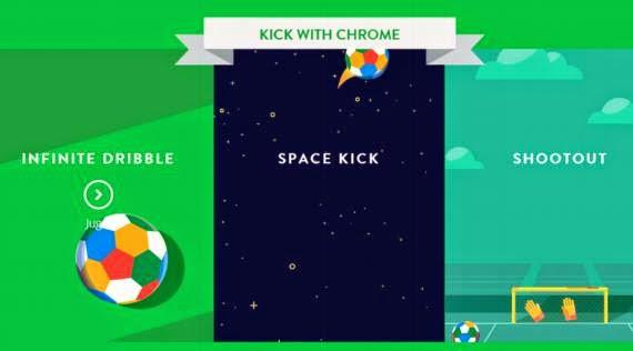 Jugar fútbol en Google Chrome