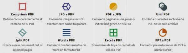 Aplicación para convertir archivos a PDF