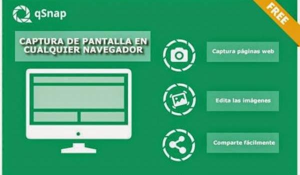 Captura, edita y comparte pantallas web desde cualquier navegador