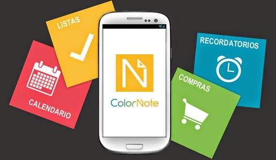 Completísimo bloc de notas para Android
