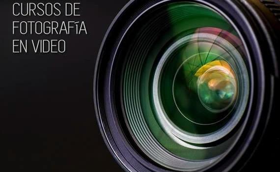 Curso de fotografía en 8 clases en video