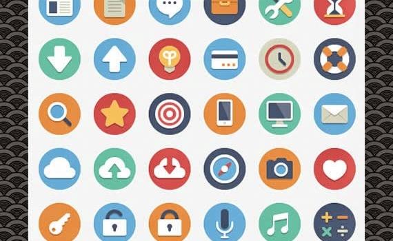 29 packs de iconos planos para descargar gratis