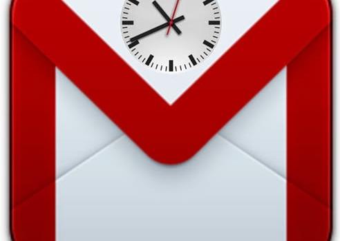 Recordatorios y envíos programados de mensajes en Gmail