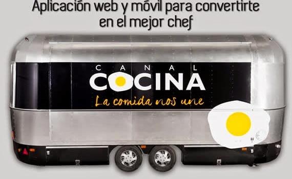 Aplicación web y móvil para convertirte en un experto chef