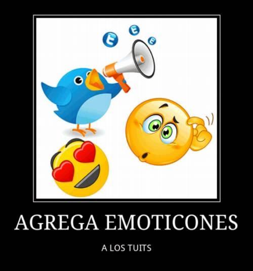 Agrega emoción a los 140 caracteres de Twitter