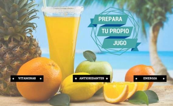 Aplicación para preparar los mejores y más saludables jugos naturales