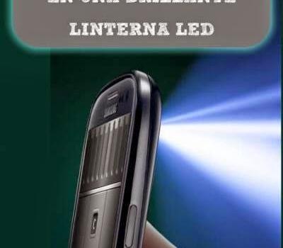 Convierte tu móvil en una brillante linterna LED