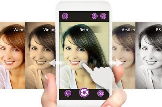 Agrega belleza a tus selfies