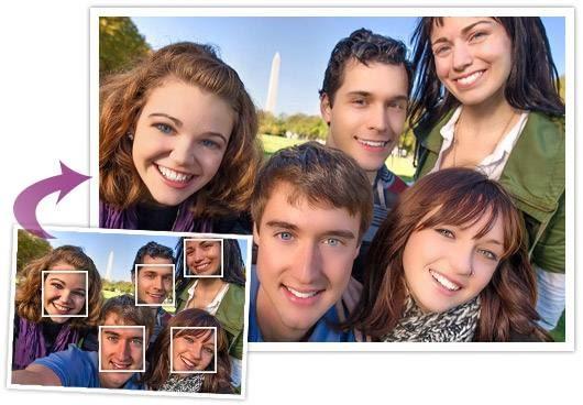 YouCam Perfect agrega belleza a tus selfies grupales