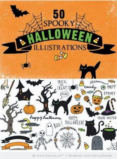 Más vectores sobre Halloween