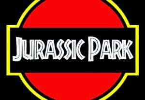 Tipografía Jurassic Park