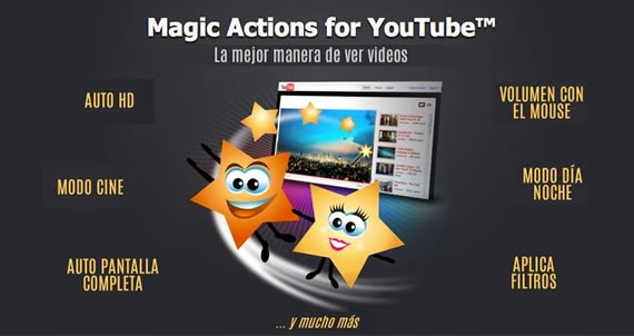Magic Actions for YouTube™ mejora tu experiencia en Youtube