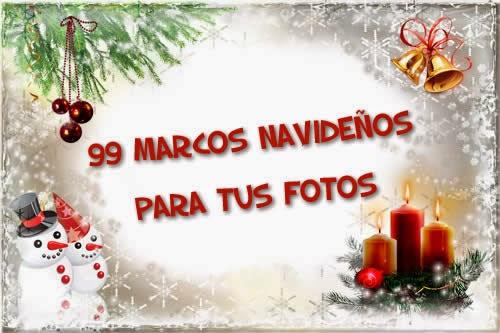 99 creativos marcos navide os para tus fotos recursos - Marcos navidad fotos ...