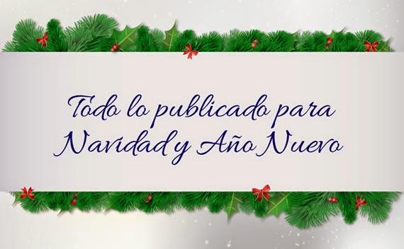 Recordatorio de Navidad y fin de año