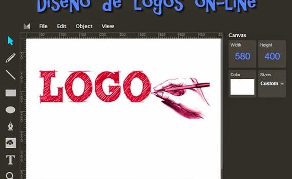Aplicación para diseñar logos on-line