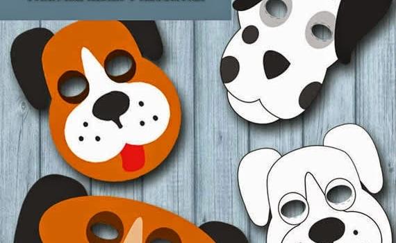 Diversión para los chicos con juegos, máscaras y otras manualidades listas para imprimir y recortar