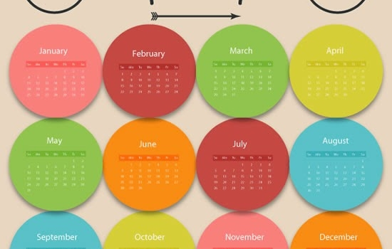 5 webs con calendarios 2015 editables y listos para imprimir