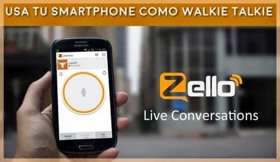 Convierte tu smartphone o PC en un walkie talkie
