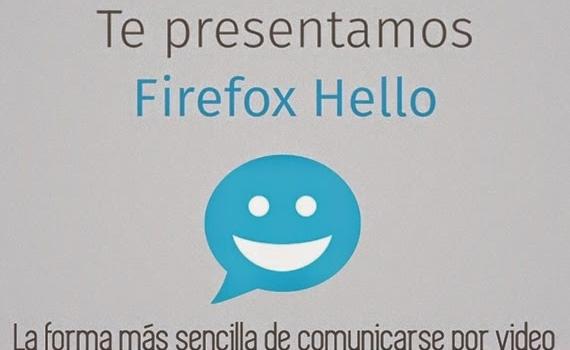 Firefox Hola. La forma más sencilla de comunicarse por video