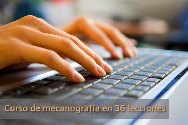 Curso de Mecanografía en 36 lecciones gratuitas