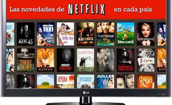 Conoce las novedades diarias de Netflix en cada país