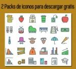 2 increíbles packs de iconos para descargar gratis