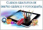 Cursos gratuitos de diseño gráfico y fotografía