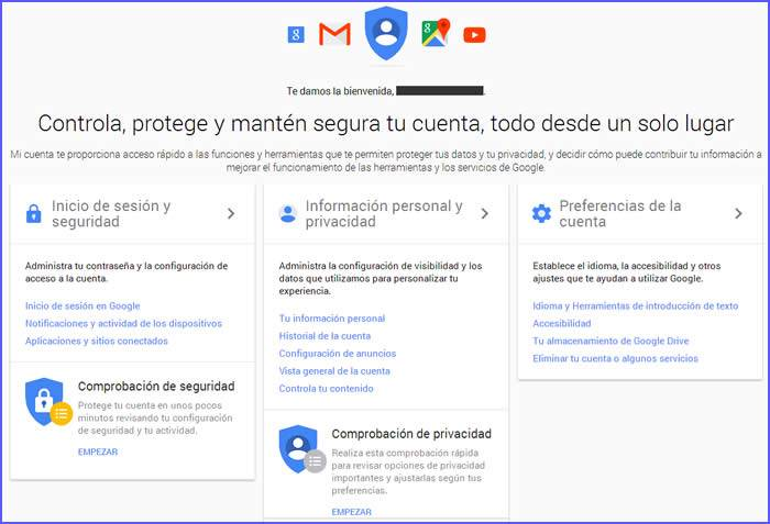 control-cuenta-google