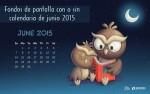 Fondos de pantalla con o sin el calendario del mes de junio de 2015